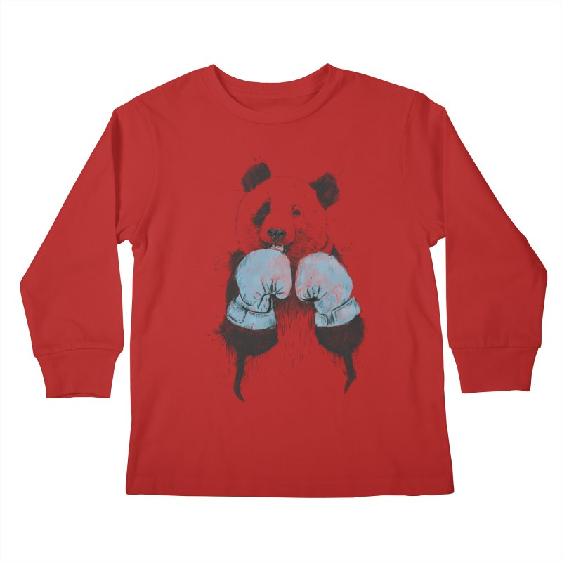 The winner Kids Longsleeve T-Shirt by Balazs Solti