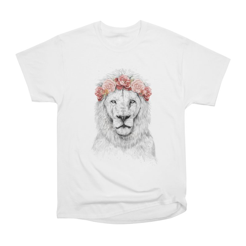Festival lion Men's Classic T-Shirt by Balazs Solti