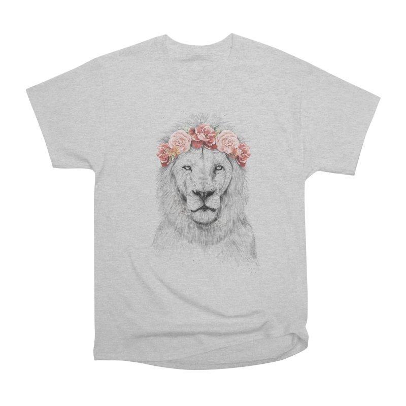 Festival lion Women's Classic Unisex T-Shirt by Balazs Solti
