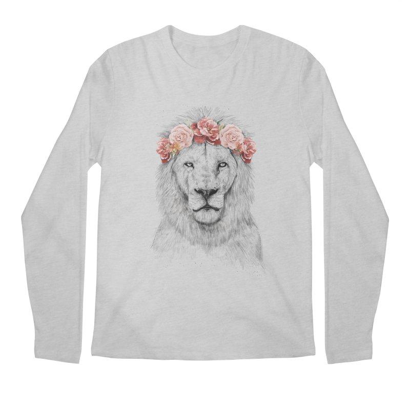 Festival lion Men's Longsleeve T-Shirt by Balazs Solti
