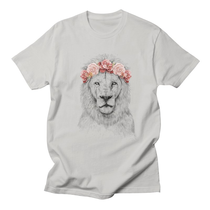 Festival lion Men's T-Shirt by Balazs Solti