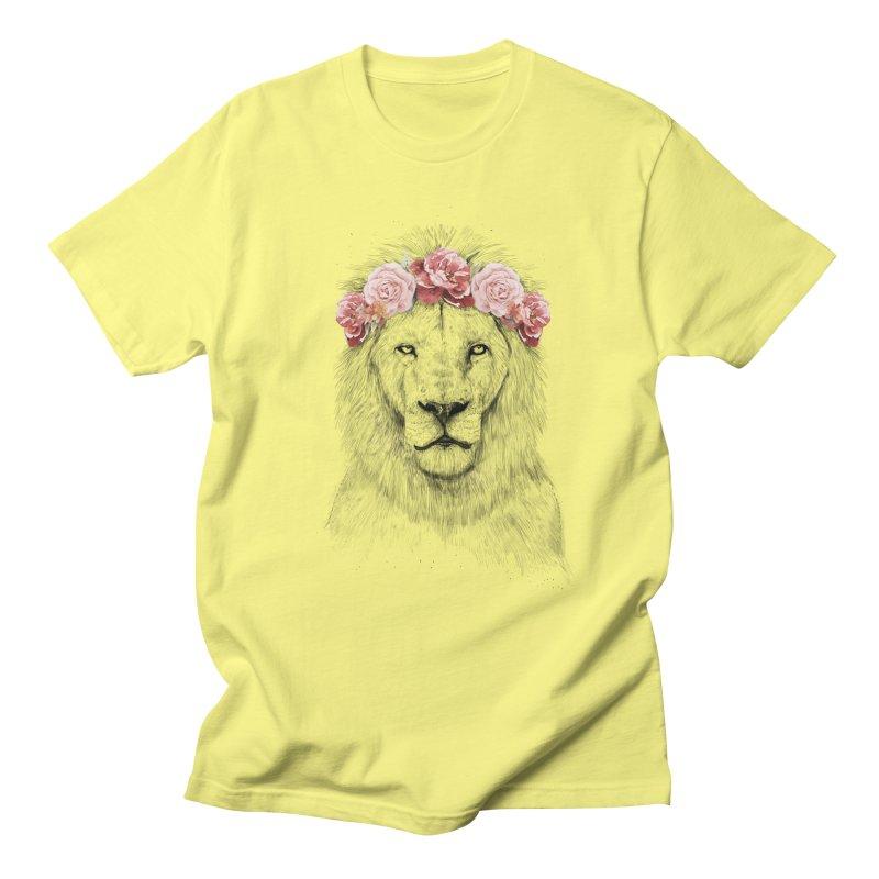 Festival lion Men's T-Shirt by Balazs Solti