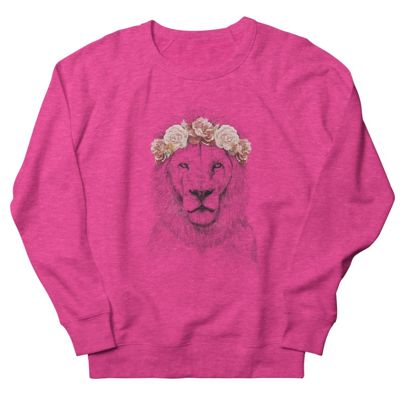 Festival lion Men's Sweatshirt by Balazs Solti