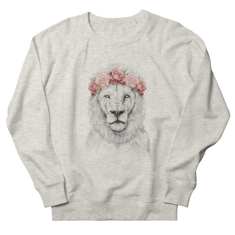 Festival lion Men's Sweatshirt by Balazs Solti