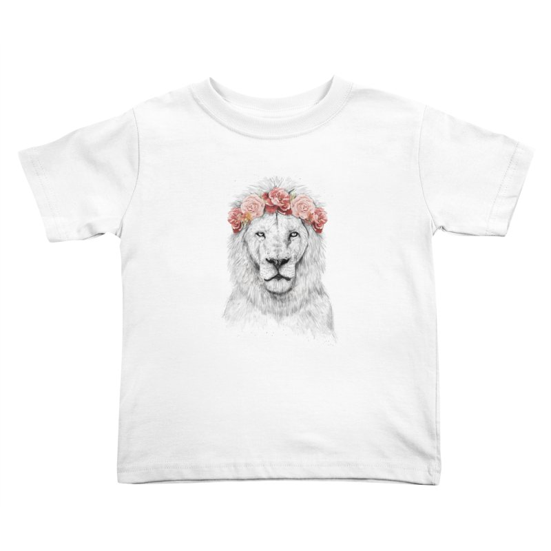 Festival lion Kids Toddler T-Shirt by Balazs Solti