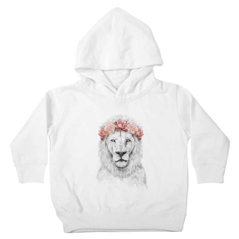 Festival lion Kids Toddler Pullover Hoody by Balazs Solti