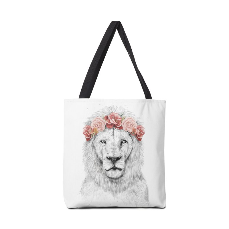 Festival lion Accessories Tote Bag Bag by Balazs Solti