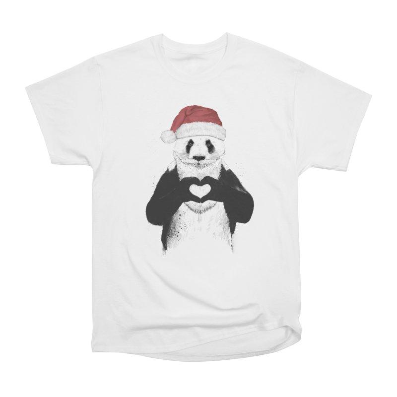 Santa panda Men's Classic T-Shirt by Balazs Solti