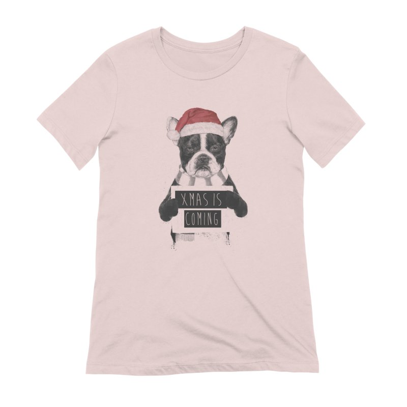 Xmas is coming Women's Extra Soft T-Shirt by Balazs Solti