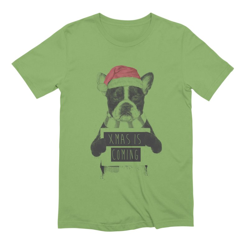 Xmas is coming Men's Extra Soft T-Shirt by Balazs Solti