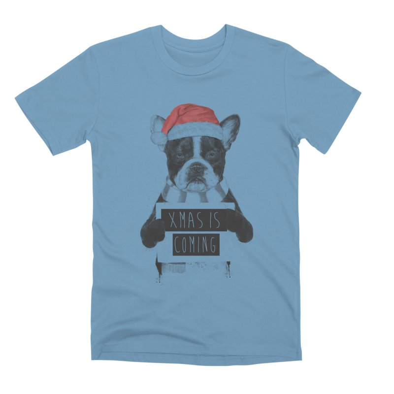 Xmas is coming Men's Premium T-Shirt by Balazs Solti