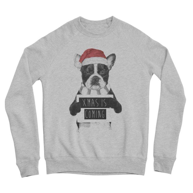 Xmas is coming Women's Sponge Fleece Sweatshirt by Balazs Solti