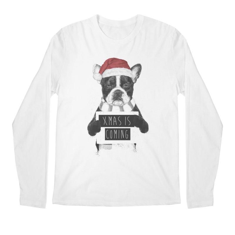 Xmas is coming Men's Longsleeve T-Shirt by Balazs Solti