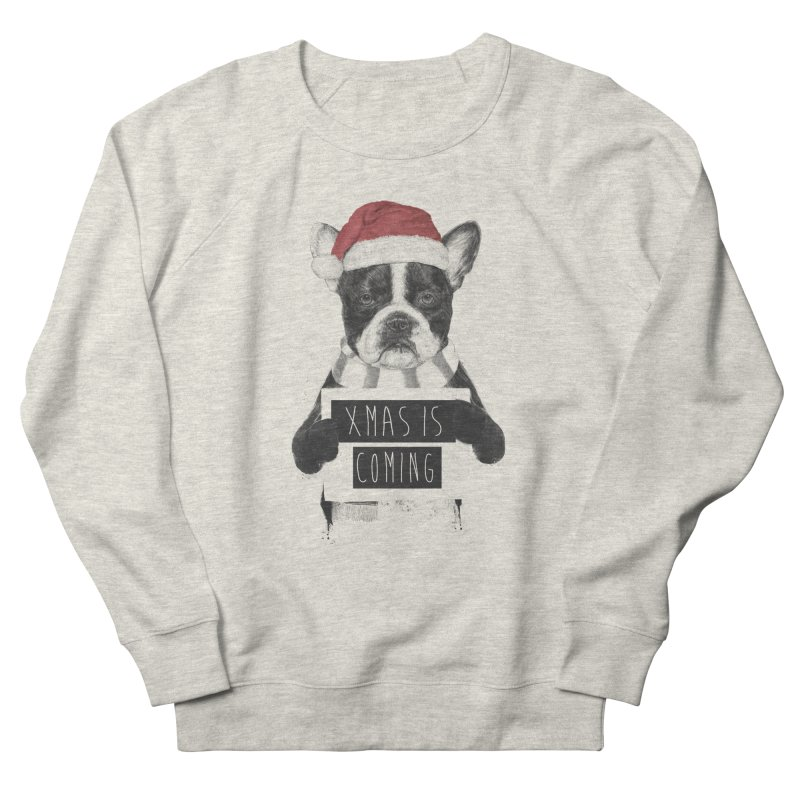 Xmas is coming Women's French Terry Sweatshirt by Balazs Solti