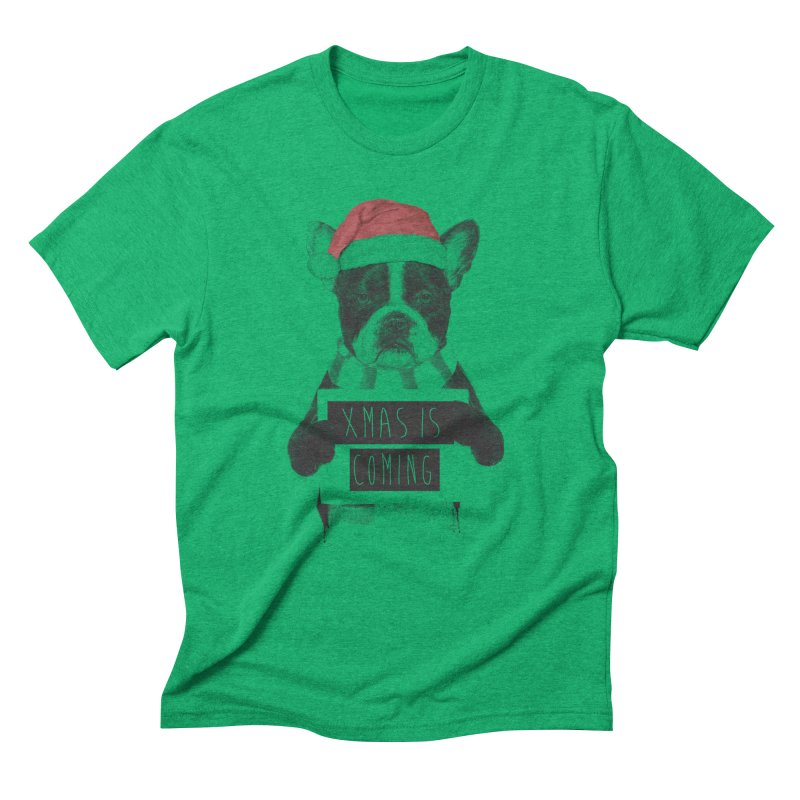 Xmas is coming Men's Triblend T-Shirt by Balazs Solti