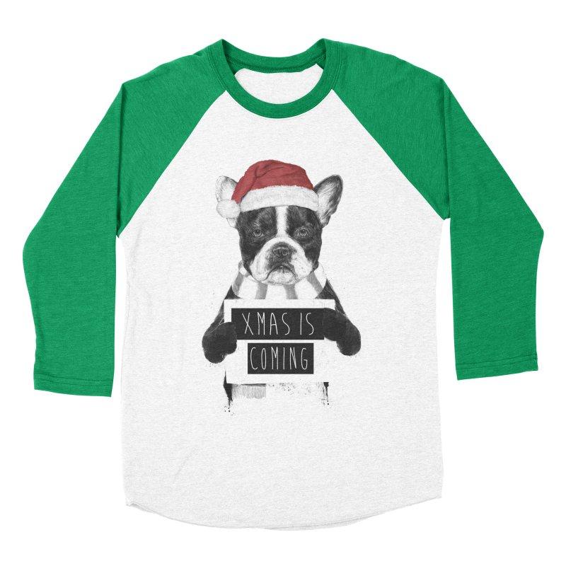 Xmas is coming Men's Baseball Triblend T-Shirt by Balazs Solti