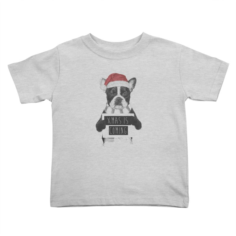 Xmas is coming Kids Toddler T-Shirt by Balazs Solti