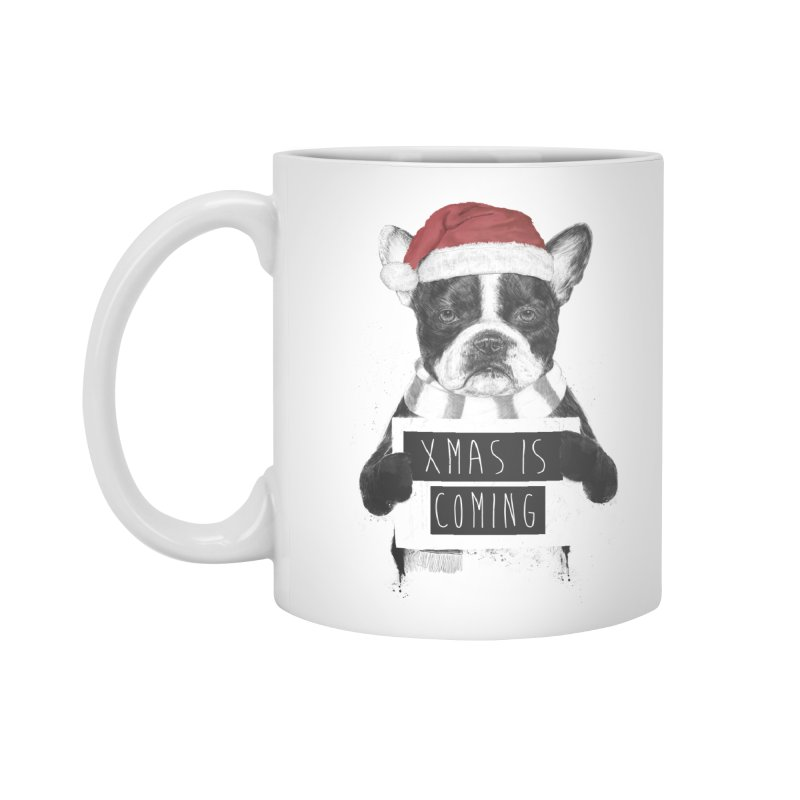 Xmas is coming Accessories Mug by Balazs Solti