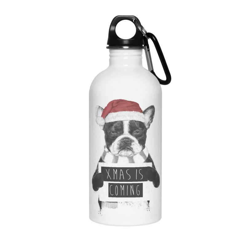 Xmas is coming Accessories Water Bottle by Balazs Solti
