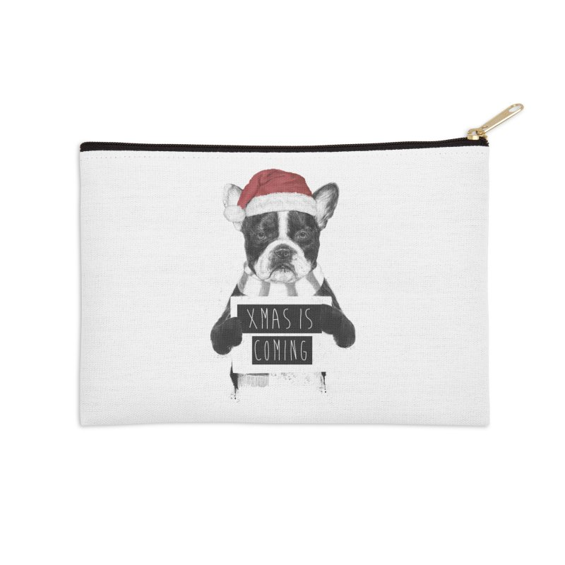 Xmas is coming Accessories Zip Pouch by Balazs Solti