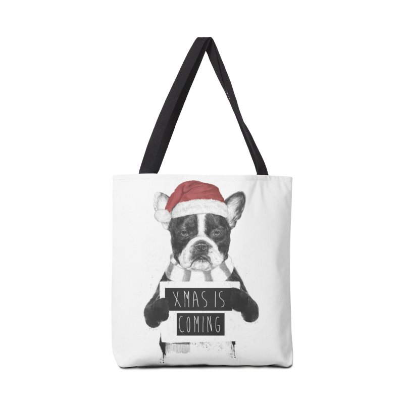 Xmas is coming Accessories Bag by Balazs Solti