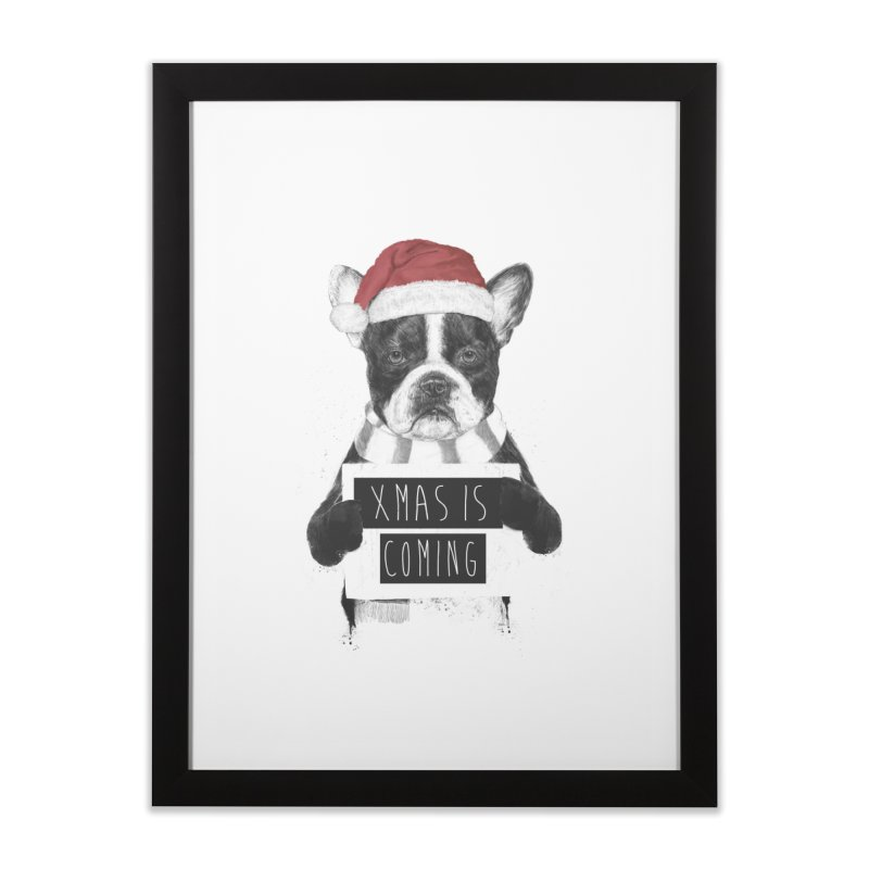 Xmas is coming Home Framed Fine Art Print by Balazs Solti