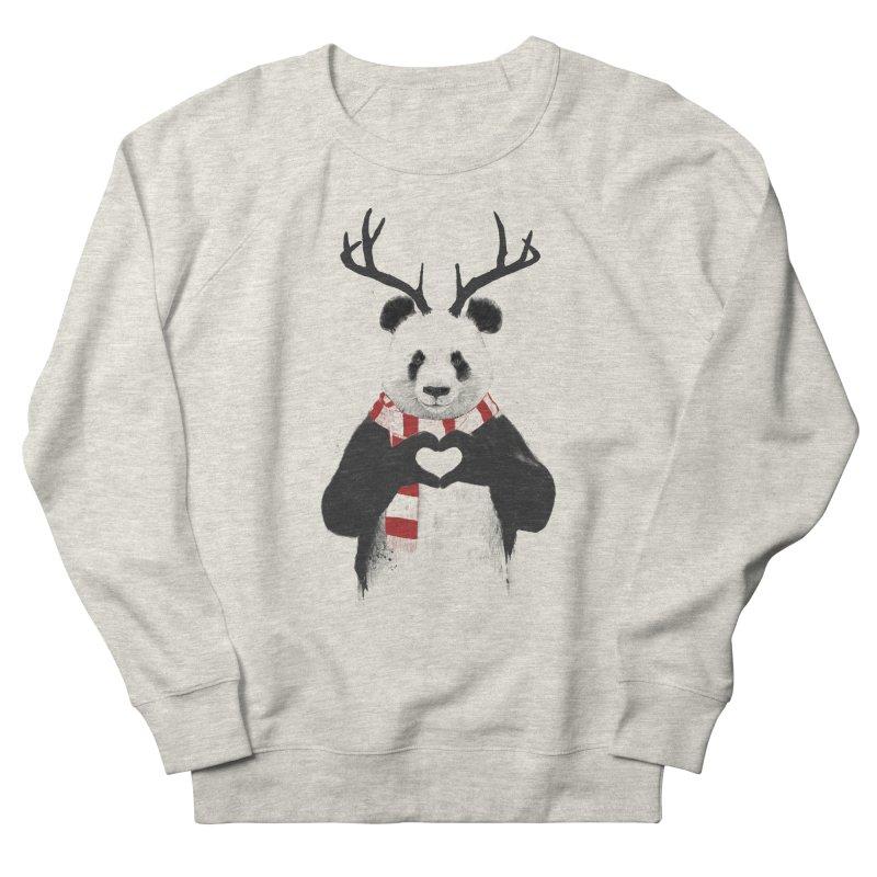Xmas panda Men's Sweatshirt by Balazs Solti