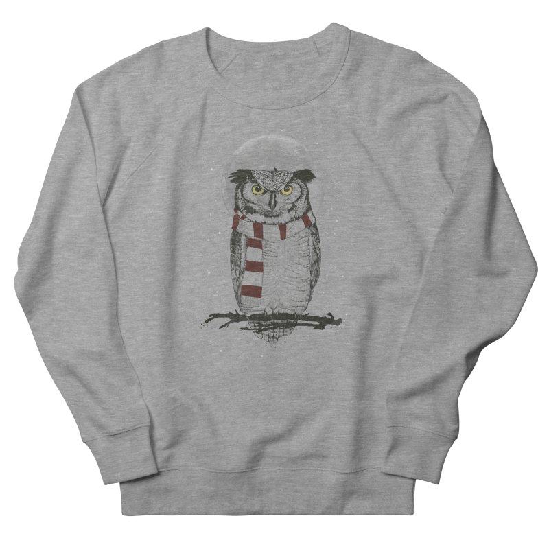 Winter owl Women's Sweatshirt by Balazs Solti