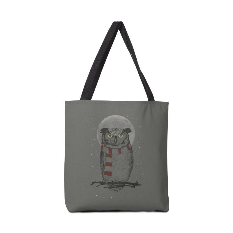 Winter owl Accessories  by Balazs Solti