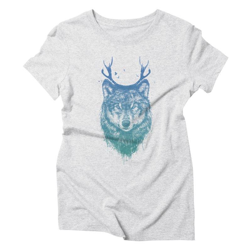 Deer wolf Women's  by Balazs Solti