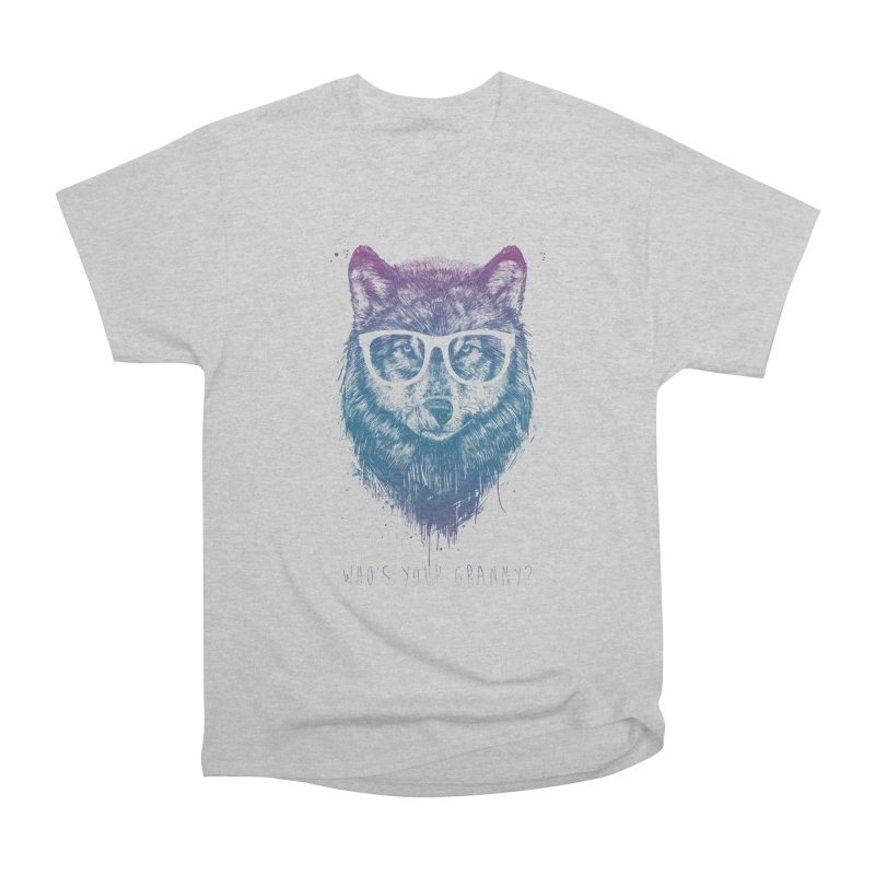 Who's your granny? Women's Heavyweight Unisex T-Shirt by Balazs Solti