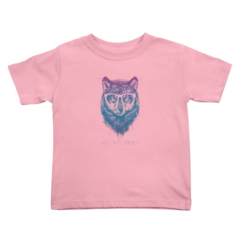 Who's your granny? Kids Toddler T-Shirt by Balazs Solti