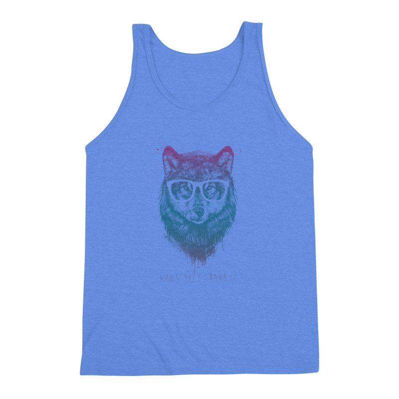 Who's your granny? Men's Triblend Tank by Balazs Solti