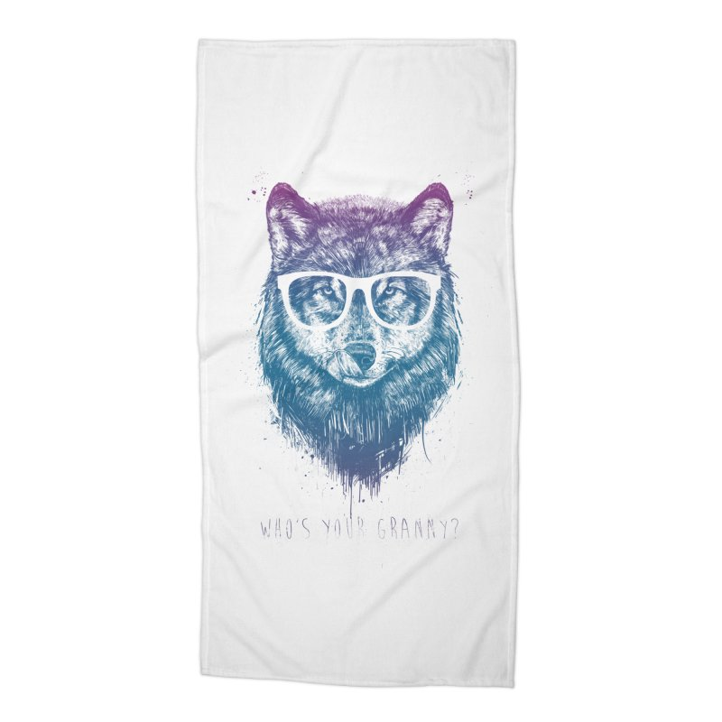 Who's your granny? Accessories Beach Towel by Balazs Solti