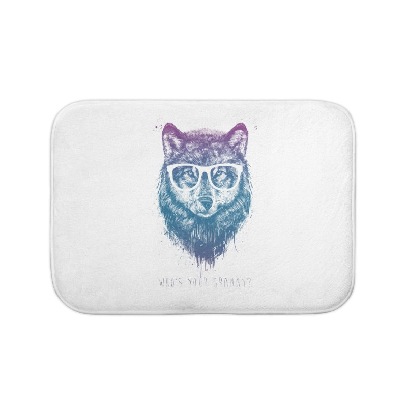 Who's your granny? Home Bath Mat by Balazs Solti