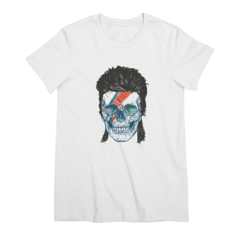 Eye of the singer Women's Premium T-Shirt by Balazs Solti