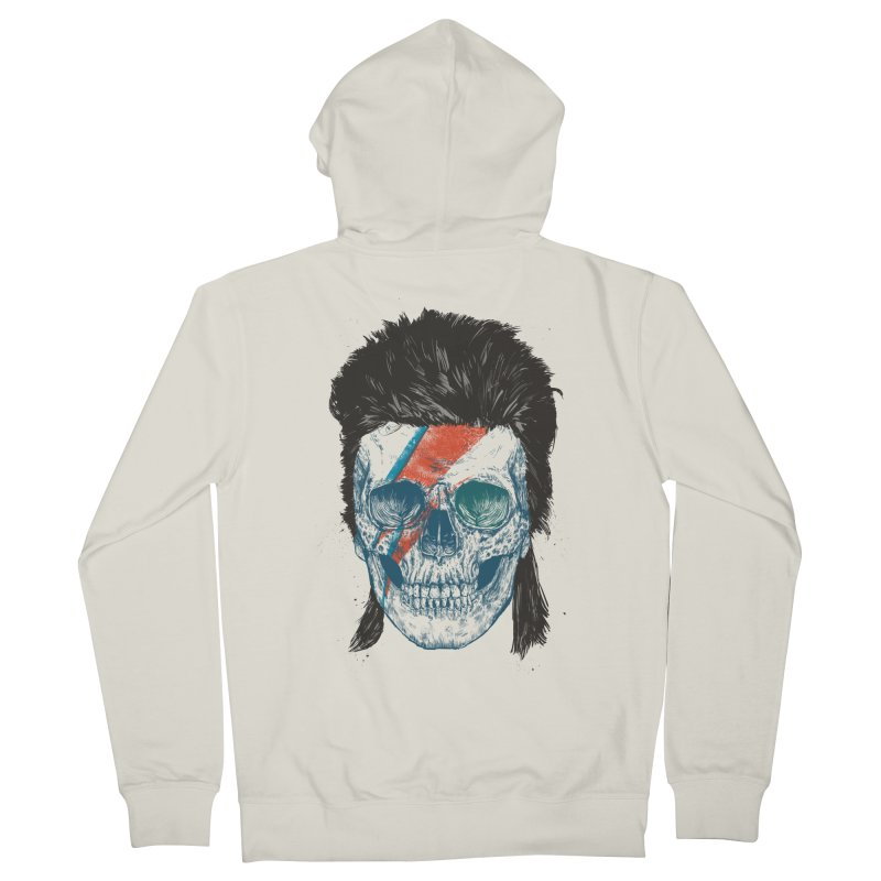 Eye of the singer Men's French Terry Zip-Up Hoody by Balazs Solti