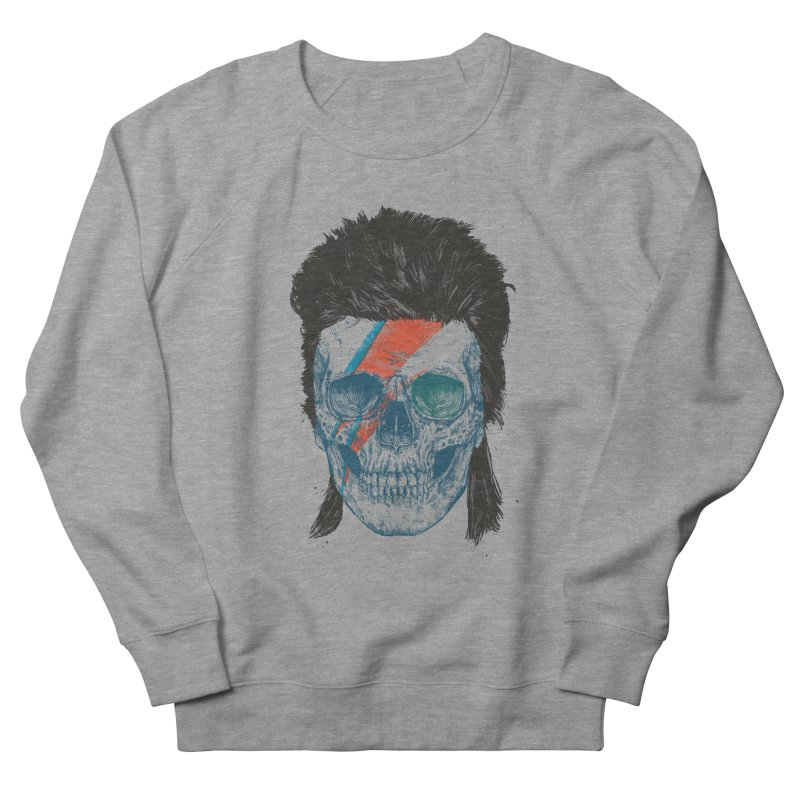 Eye of the singer Men's French Terry Sweatshirt by Balazs Solti
