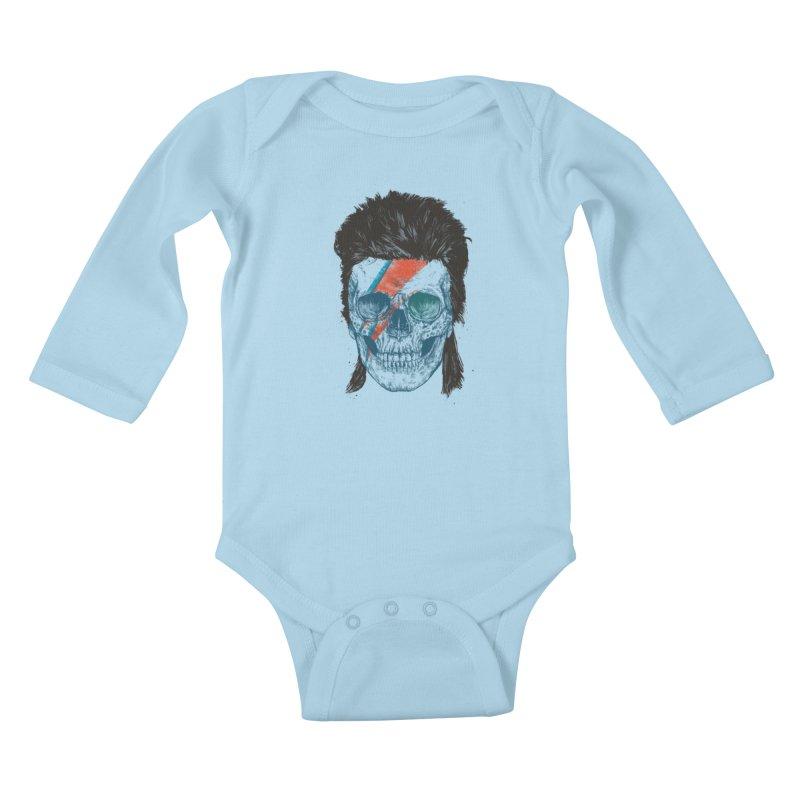 Eye of the singer Kids Baby Longsleeve Bodysuit by Balazs Solti
