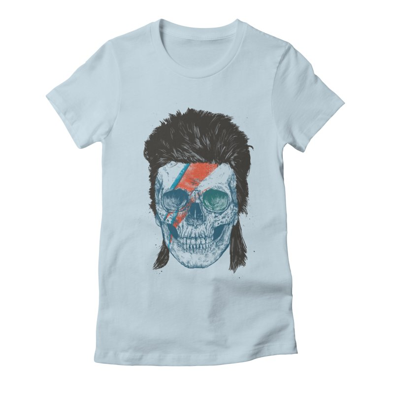 Eye of the singer Women's Fitted T-Shirt by Balazs Solti