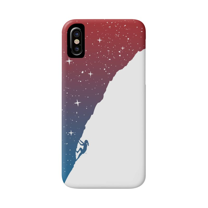 Night climbing Accessories Phone Case by Balazs Solti