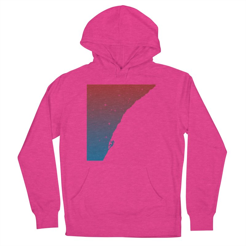 Night climbing Women's Pullover Hoody by Balazs Solti
