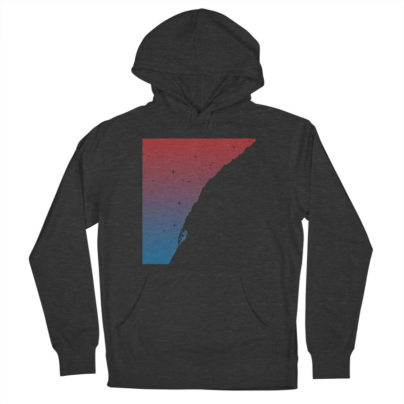 Night climbing Men's Pullover Hoody by Balazs Solti
