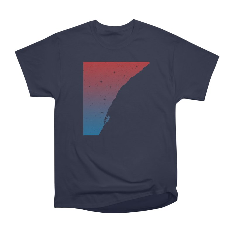 Night climbing Women's Classic Unisex T-Shirt by Balazs Solti