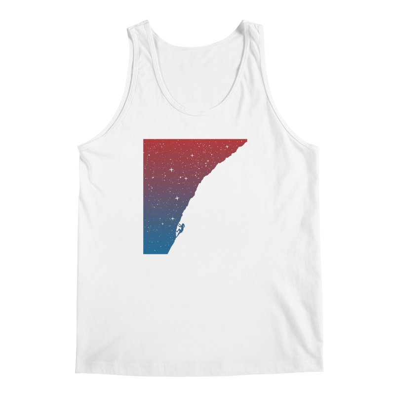 Night climbing Men's Tank by Balazs Solti