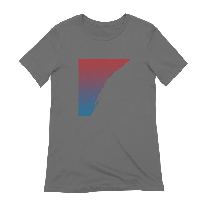 Night climbing Women's T-Shirt by Balazs Solti