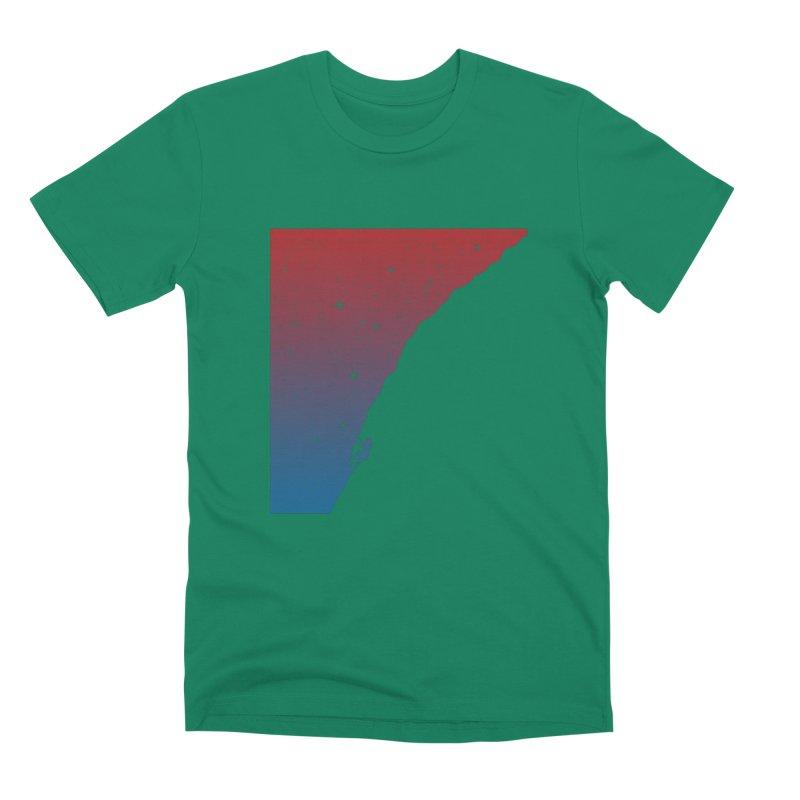 Night climbing Men's Premium T-Shirt by Balazs Solti