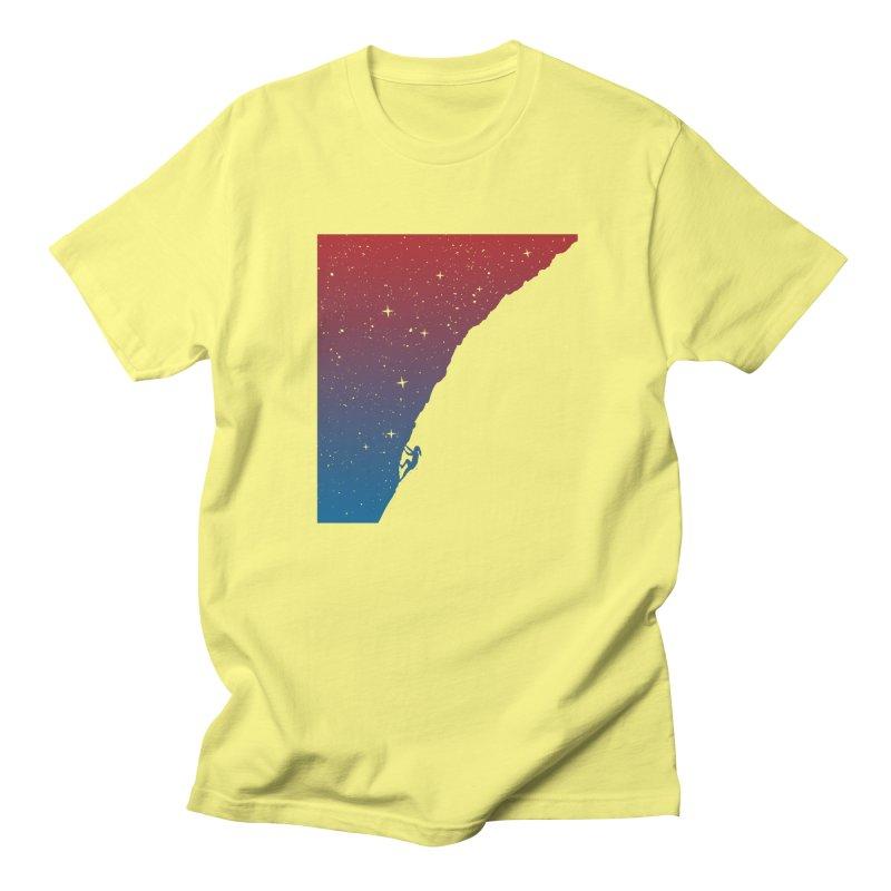 Night climbing Women's T-Shirt by Balazs Solti