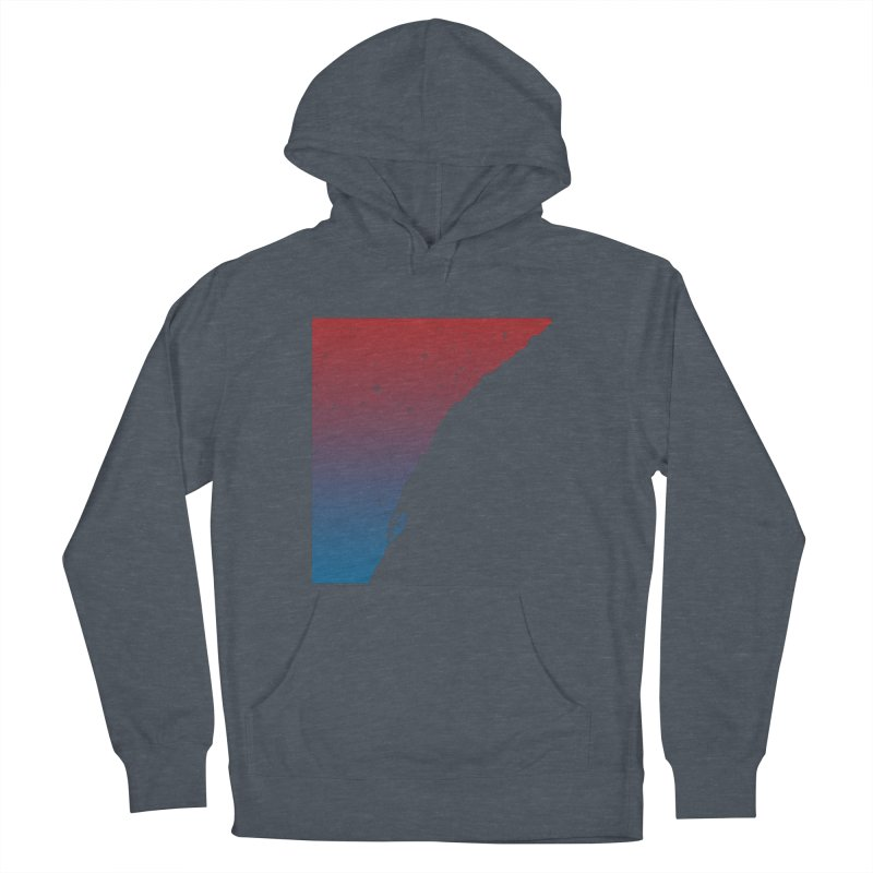 Night climbing Women's French Terry Pullover Hoody by Balazs Solti