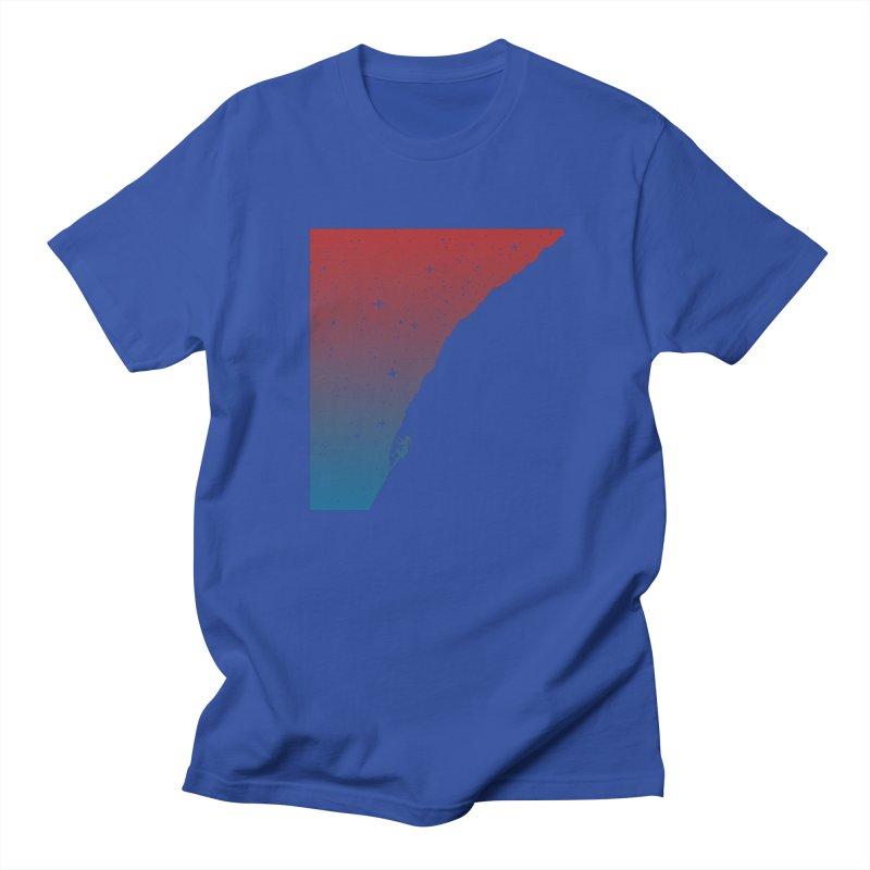 Night climbing Women's Regular Unisex T-Shirt by Balazs Solti